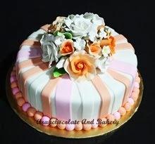 CAKE - FONDANT - Saiz bulat