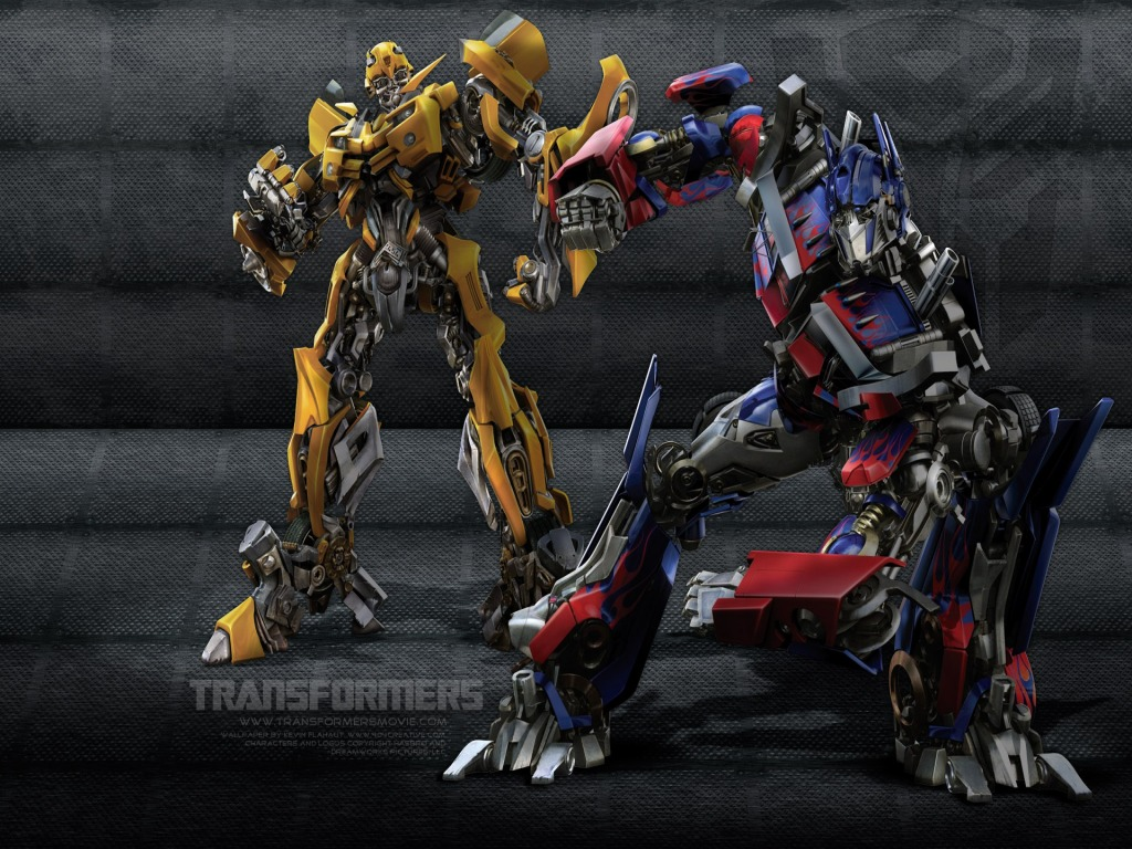 Film Transformers, Bumblebee & Optimus