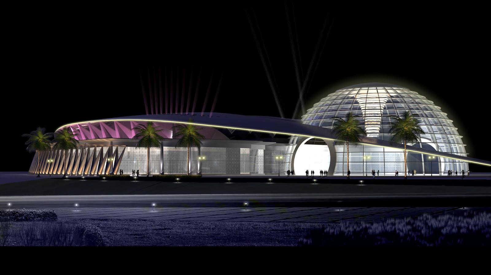 3D Front Elevation.com: Dubai Villas 2012 Style 3D front elevation ...
