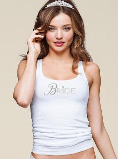 Miranda Kerr for VS Bride Collection March 2013