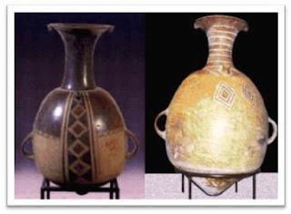 Cerámica Inca - Aríbalo Inca