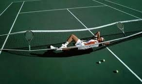 Adoro jogar ténis