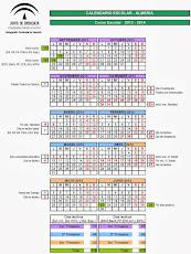 CALENDARIO ESCOLAR 2013/2014
