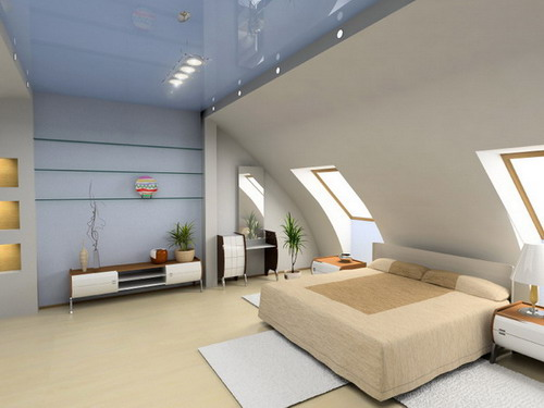 Decoration loft bedroom apartment ideas