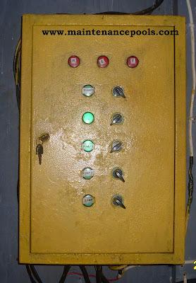 Control panel pompa filter kolam renang