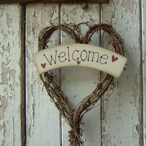 Wonderful I Am Fanatical About Welcome Signs On The Front Door. When We Moved In Back  In 1999, Our Next Door Neighbor Changed Her Welcome Sign With Seasons And  The ...