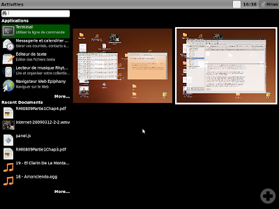 Обзор Gnome 3.0 Gnome-shell2