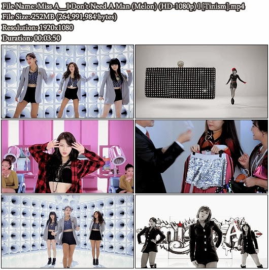 Download MV Miss A - I Don't Need A Man (Melon Full HD 1080p)