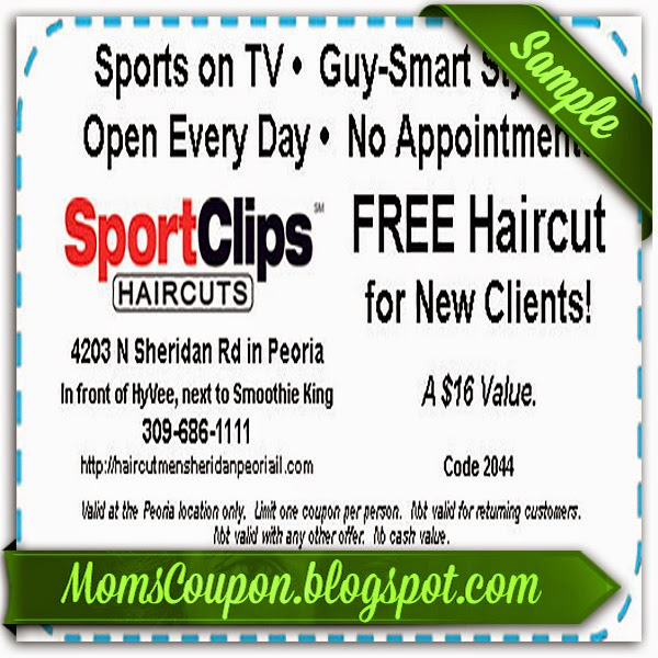 Sports clips coupons