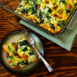 Baby Kale, Mozzarella, And Egg Bake Recipes — Dishmaps