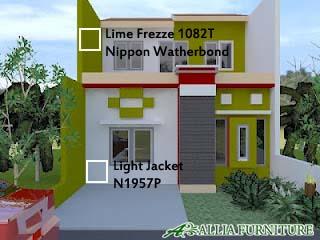 Contoh Kombinasi Warna Rumah Nippon Paint