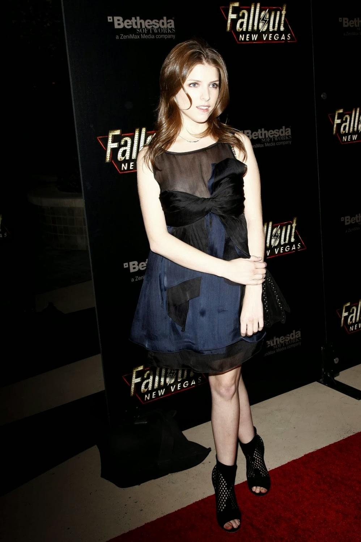 Anna Kendrick Nip Slip in Fallout: New Vegas Launch