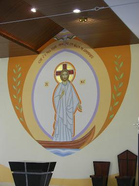 Restauração do painel da comunidade N.Sra.Aparecida de Pirabeiraba SC