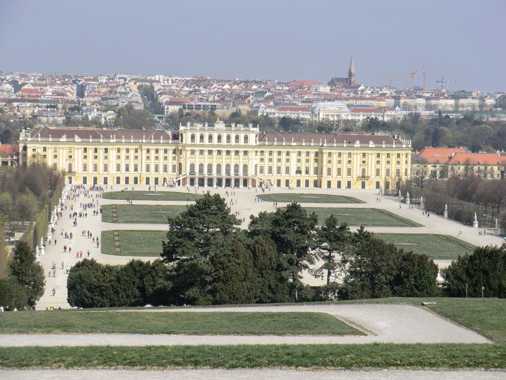 viena Schönbrunn