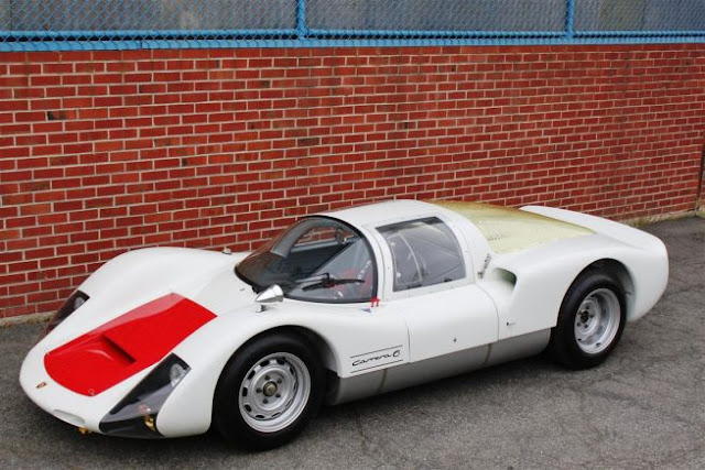 1966 Porsche 906 Carrera Competition Coupe ( 1966 PORSCHE 906 CARRERA COMPETITION COUPE Price $900,000-$1.1 million) Despite its seemingly meek 220bhp, 2-liter flat-six cylinder engine, this car — commonly referred to at the time as the Porsche Carrera 6 .1966 PORSCHE 906 CARRERA COMPETITION COUPE offers up a top speed of nearly 170 mph, an original multi-tubular chassis frame, and a new FIA-approved roll cage.