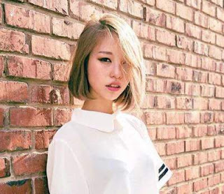 model rambut pendek wanita asia short blonde haircut