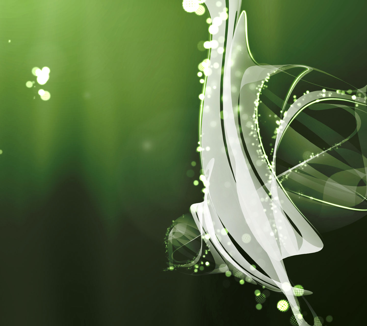 Galaxy S3 Wallpaper - Abstract Green - HD Wallpapers - 9to5Wallpapers