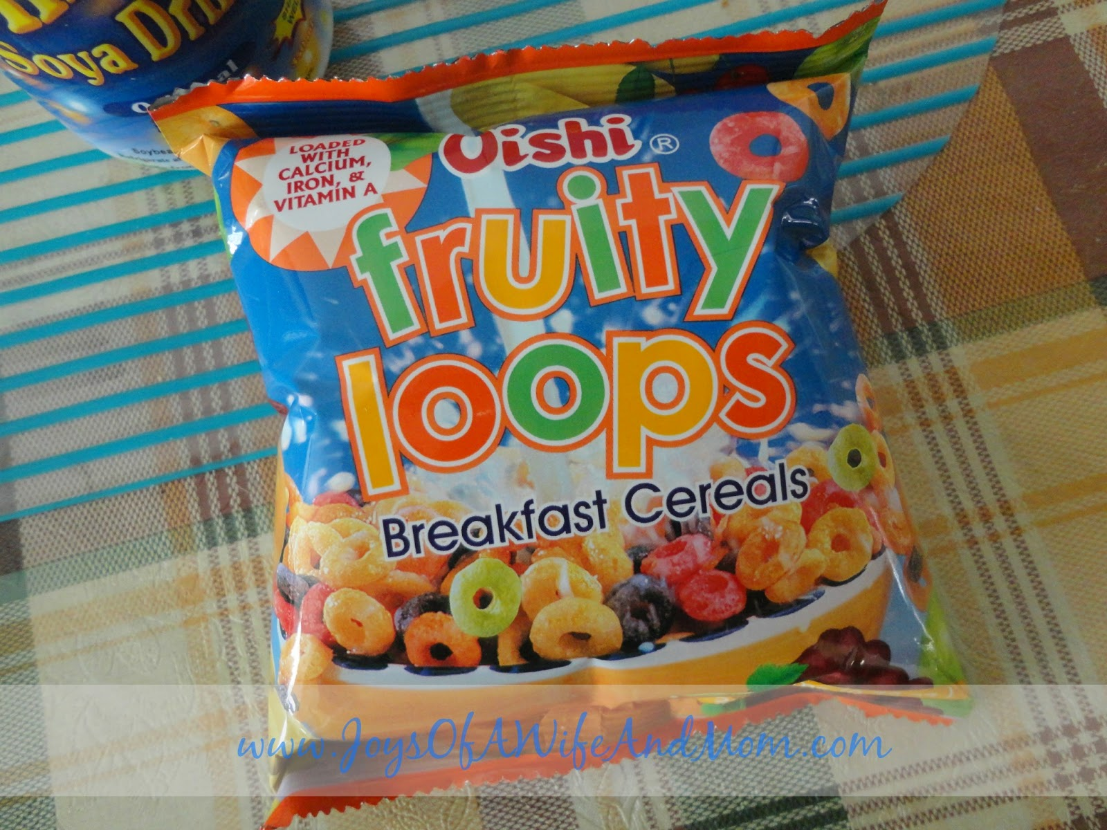 Oishi Fruity Loops Breakfast Cereals