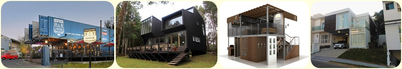 Container Cafe and Restaurant Design Klik here