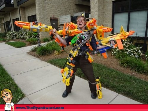 Ultimate Nerf Warrior