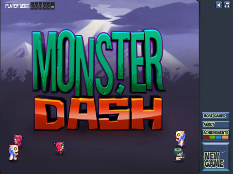 Monster Dash Free App Game By Halfbrick Studios