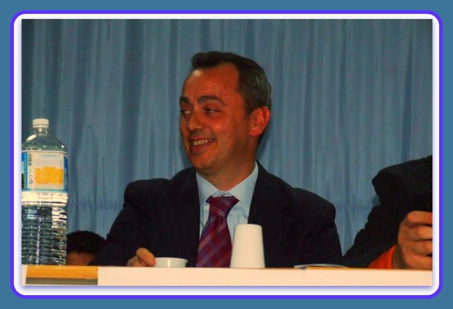 Carmine Vasovino, sindaco di Scandale. Foto Rosario Rizzuto elaborata da Gino Santoro