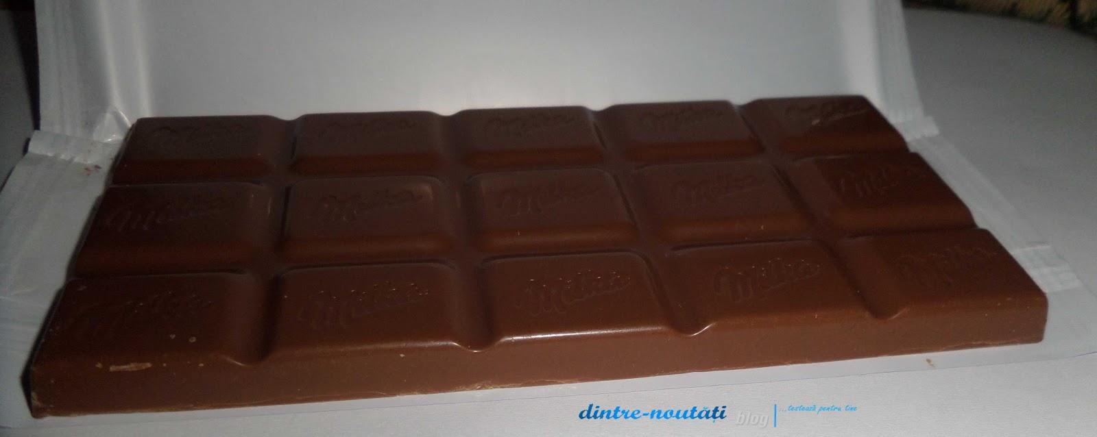 Ciocolată milka cu cremă de iaurt cum arată