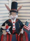 Americana Bunny Rabbit