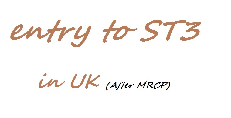 The online medicals mrcp entry to st3 requirements fandeluxe Gallery