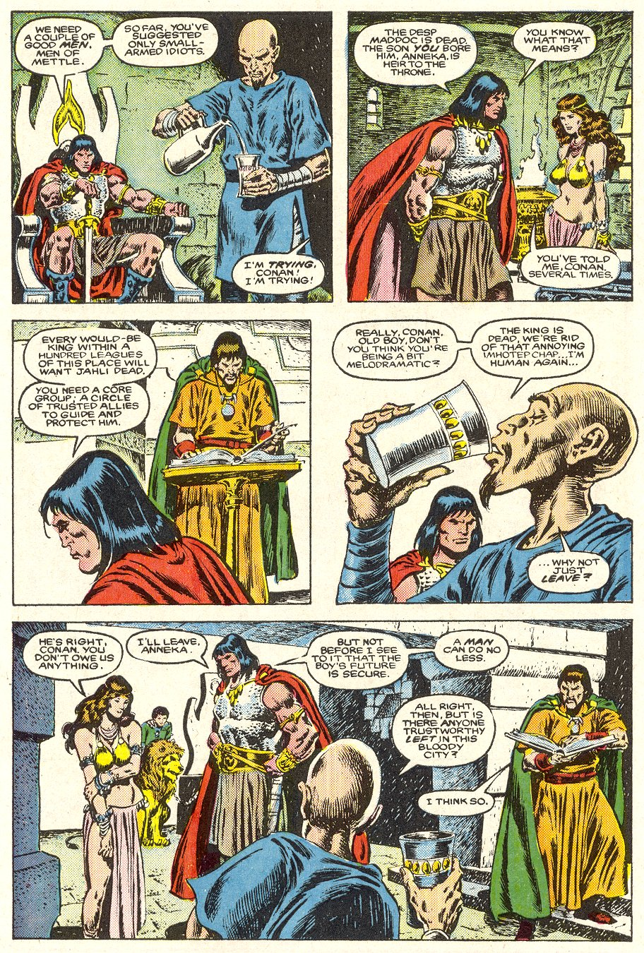 Conan the Barbarian (1970) Issue #187 #199 - English 7
