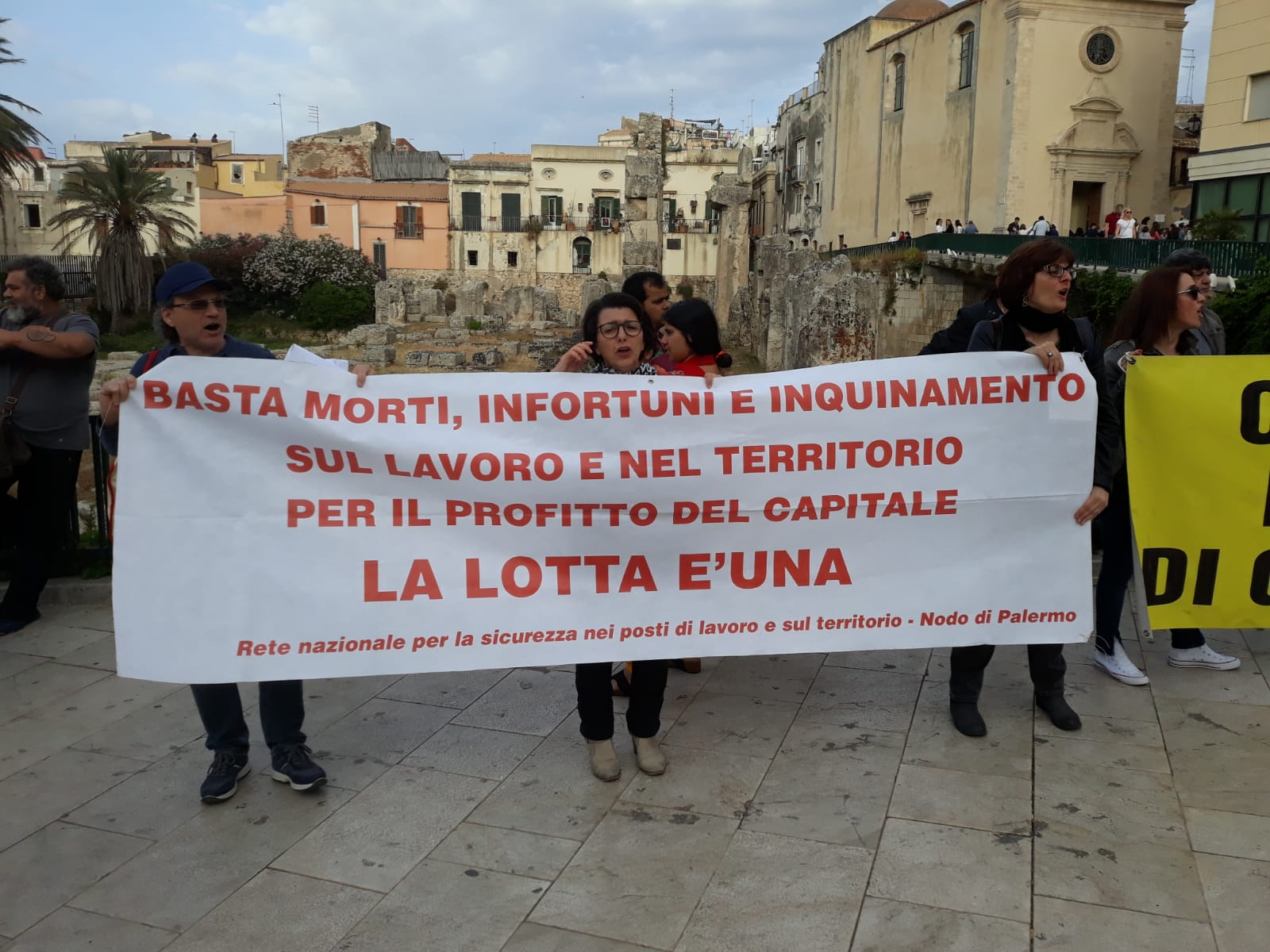 BASTA MORTI, INFORTUNI, INQUINAMENTO