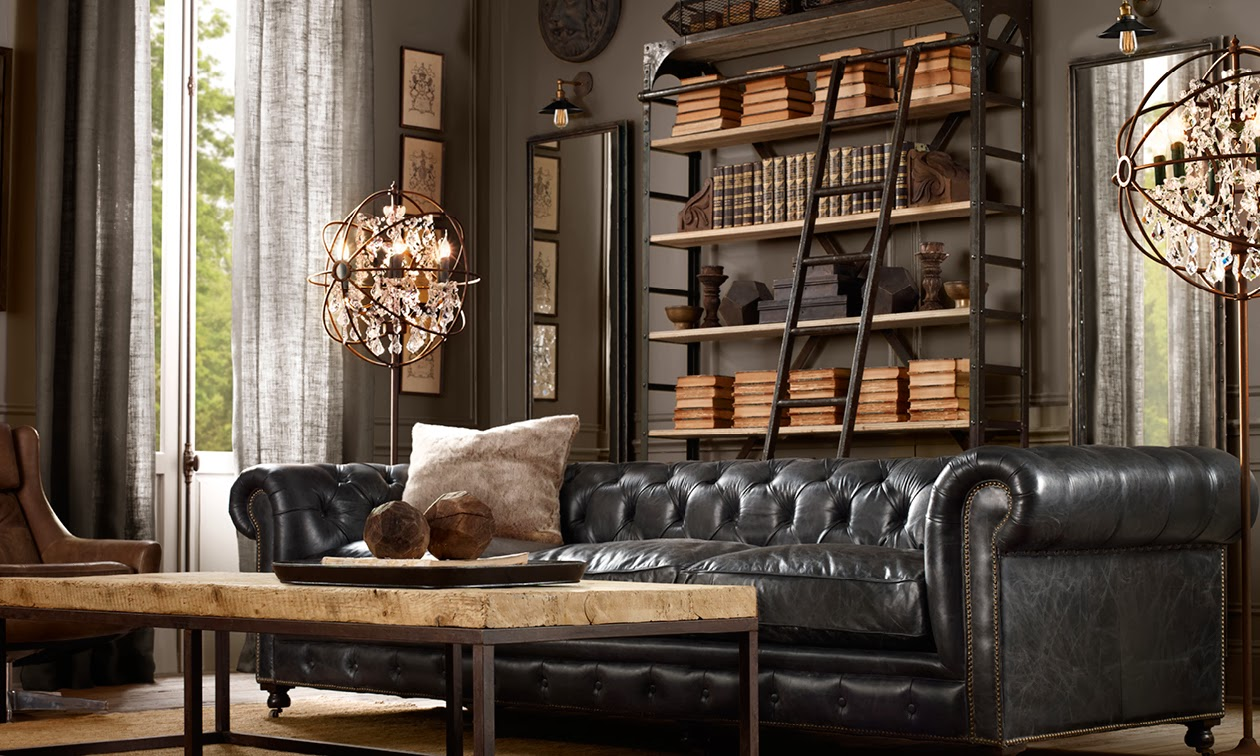 The Traveling Merchandiser Getting That Restoration Hardware Look For Your Showroom