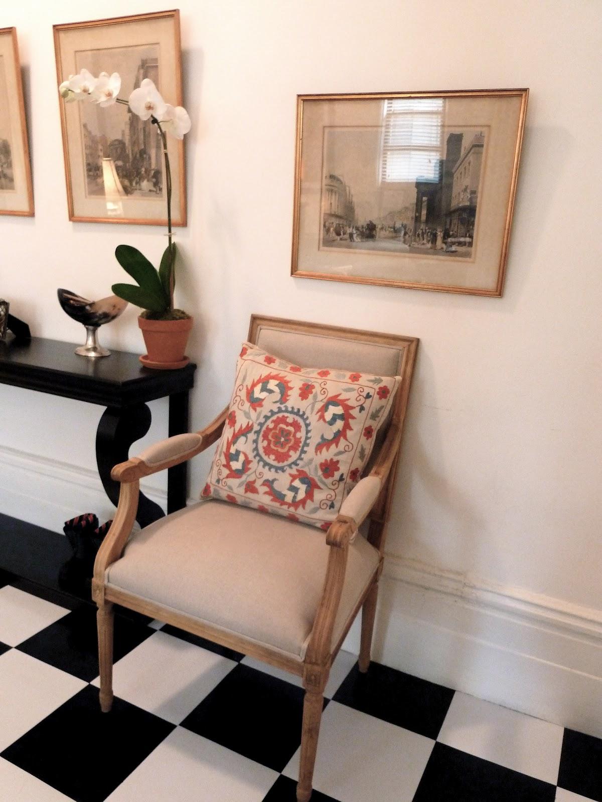 The Black And White Checkered Floor Lorri Dyner Design
