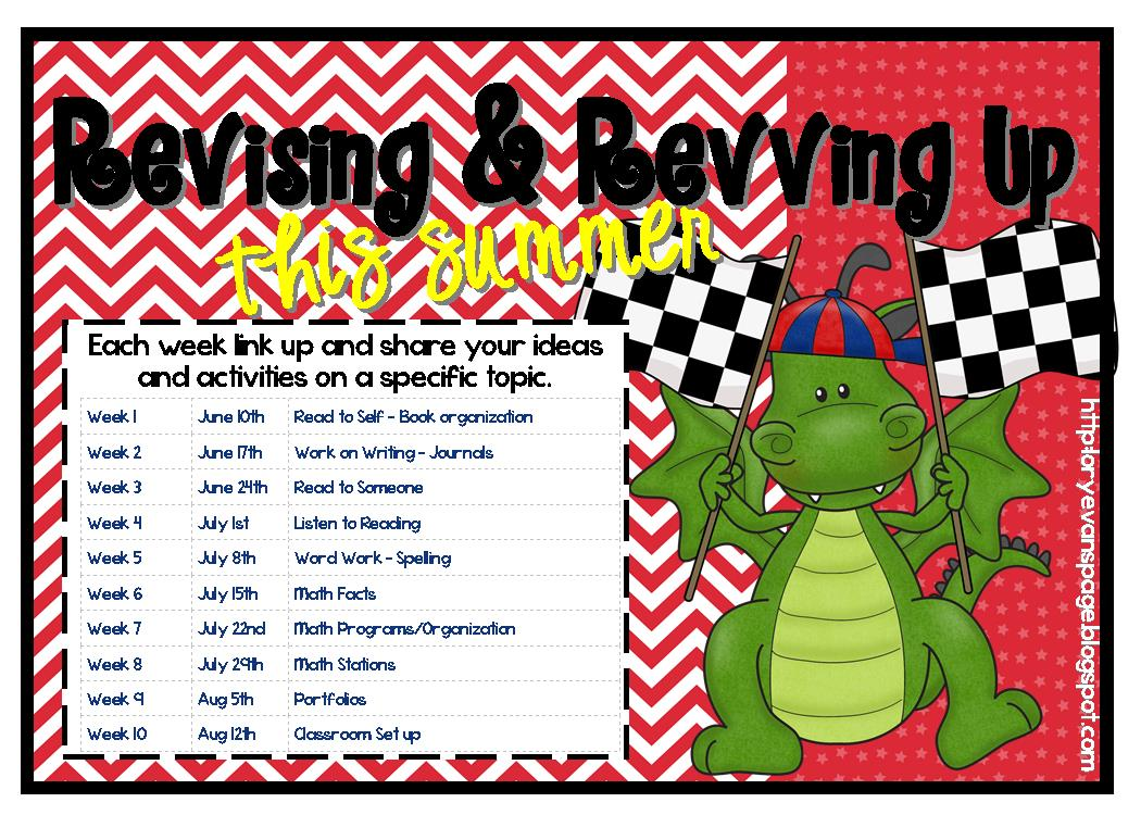 Lory\'s 2nd Grade Skills: Summer Blog Party - Week 1 Read to Self ...
