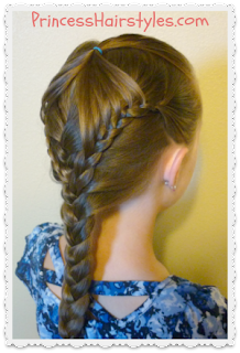 """Fairy wings braid"" with #frenchbraid #hairstyle tutorial"