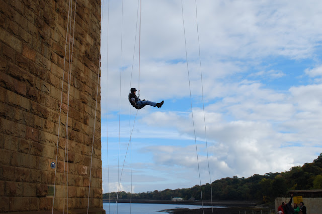 Gordon abseil for Scottish Association for Mental Health