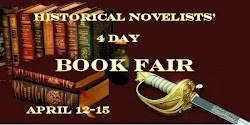 Historical Novelists Spring Book Fair badge