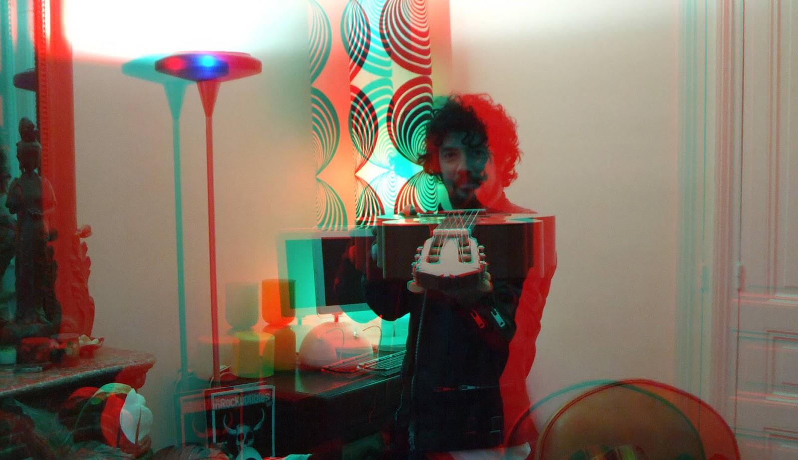 Yarol Poupaud en 3D