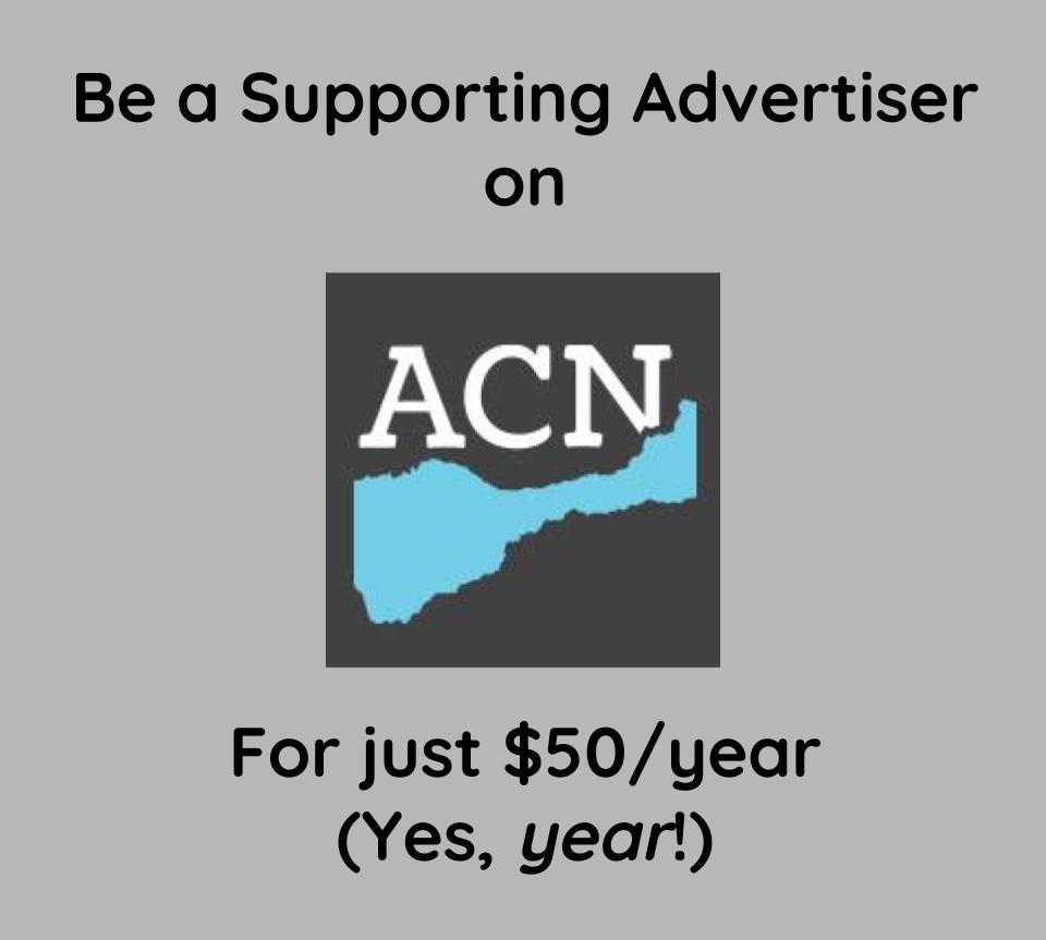 Advertise on ACN!