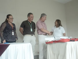 Coordinador Jorge Enrique Rubio, agradecido con los Aprendices
