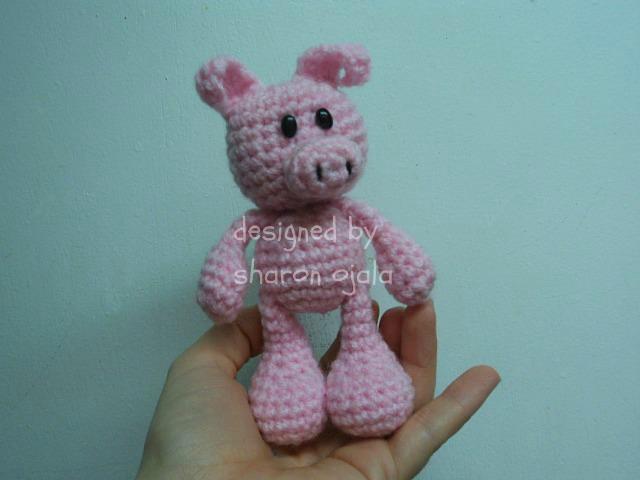 Amigurumi To Go Crochet Along Pig : Little Bigfoot Pig Free Crochet Pattern ~ Amigurumi To Go