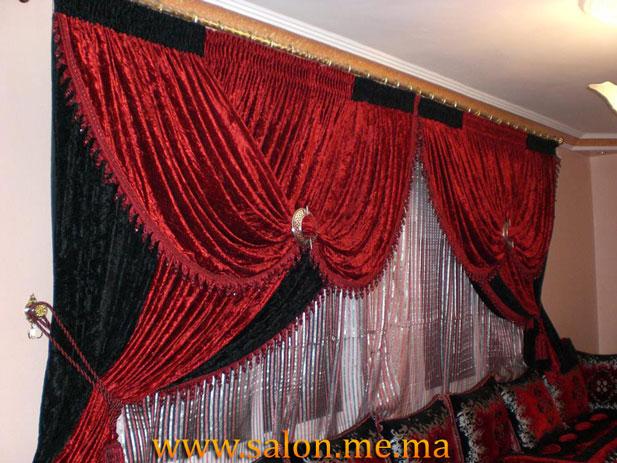 rideaux marocain style royale d 39 un rideaux marocain. Black Bedroom Furniture Sets. Home Design Ideas