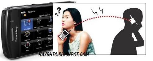 Menyadap SMS di blackberry