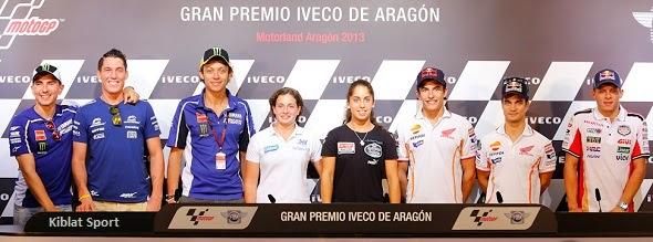 MotoGP Sirkuit Motorland Aragon Spanyol 2013