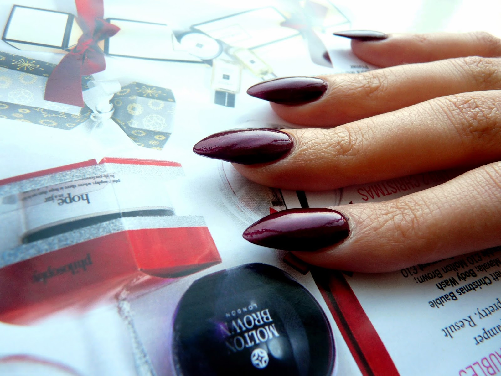 OPI autumn nails winter