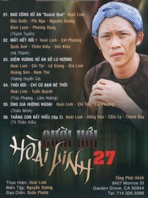 Bộ DVD Cười với Hoài Linh-bo dvd cuoi voi hoai linh