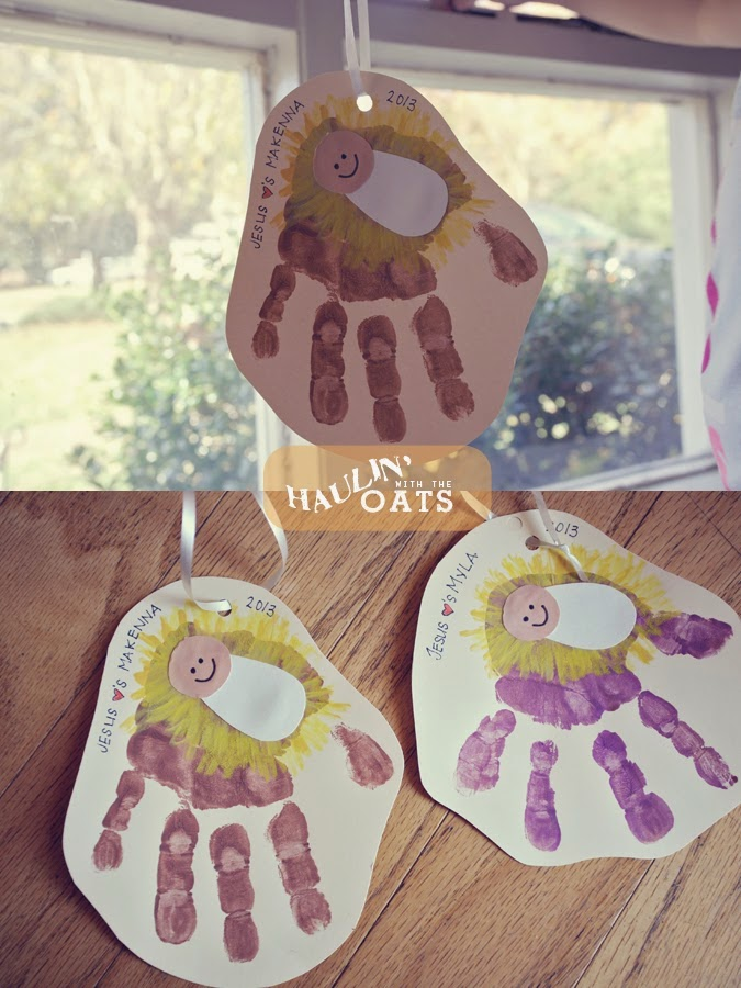 Nativity crafts for kids montessori nature for Nativity crafts to make