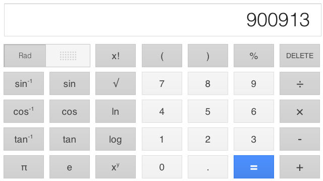 New Google Calculator