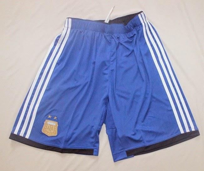2014 FIFA World Cup Argentina Away Shorts