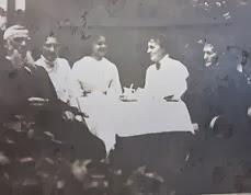 Niels P. Frederiksen, Yelva Lange, Sophie Høstrup ml. 1911